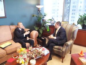 Photos from Japan Consul General Visit to Mayor Virg Bernero